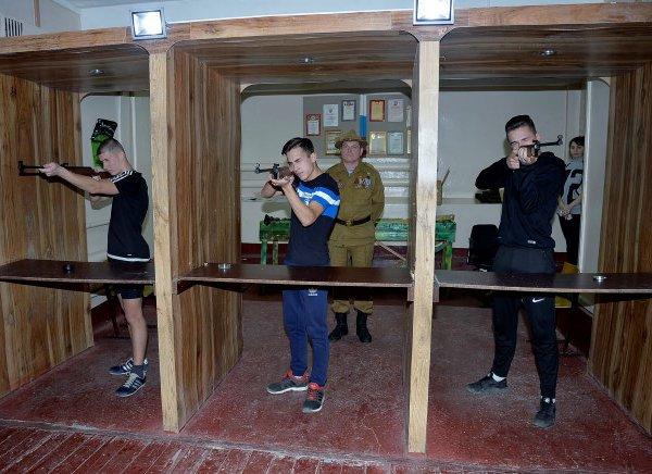 Городские военно-спортивные соревнования имени В.Ф. Маргелова
